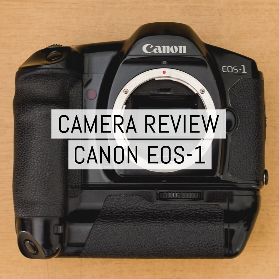 Camera review: Canon EOS-1 - by Juan Gauna